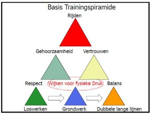 Freestyle systeem - de basis trainingspiramide